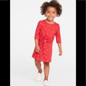 Tie-Front ❤️ Dress for Toddler girls